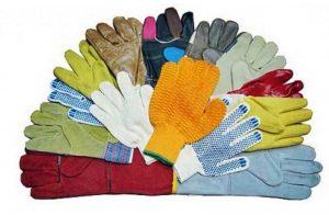 Перчатки и средства индивидуальной защиты