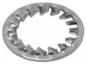 Шайба стопорная с упругими зубцами 6798 J DIN